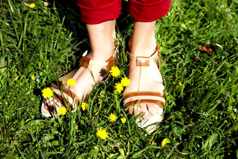 sandales salomés